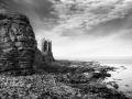 Castle beach print